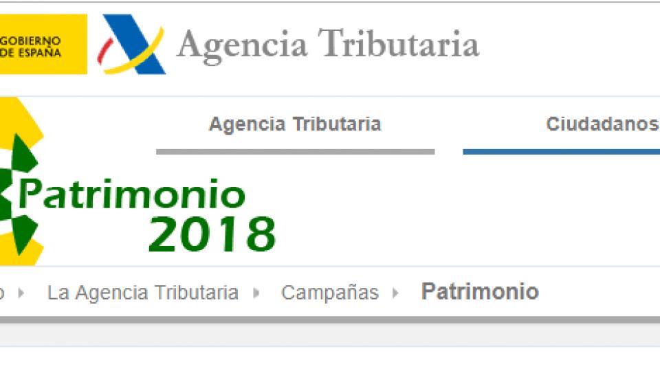 Patrimonio 2018