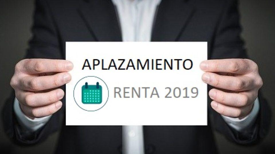 AplazamientoDeclaraciónRentaCovid19