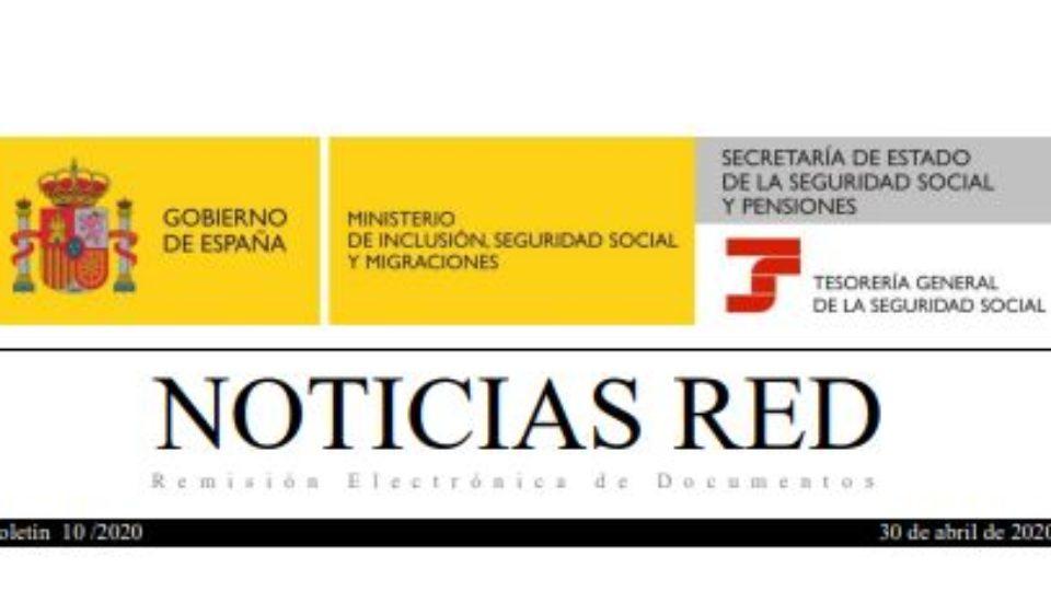 Instrucciones TGSS exoneración de cuotas por ERTEs