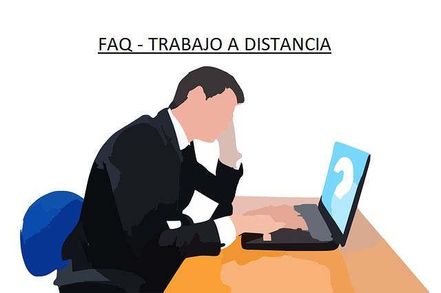 Preguntas y respuestas del trabajo a distancia